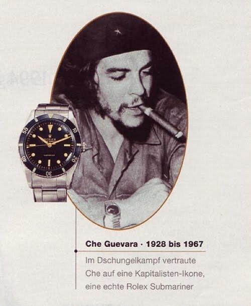 Che Guevara Rolex ad